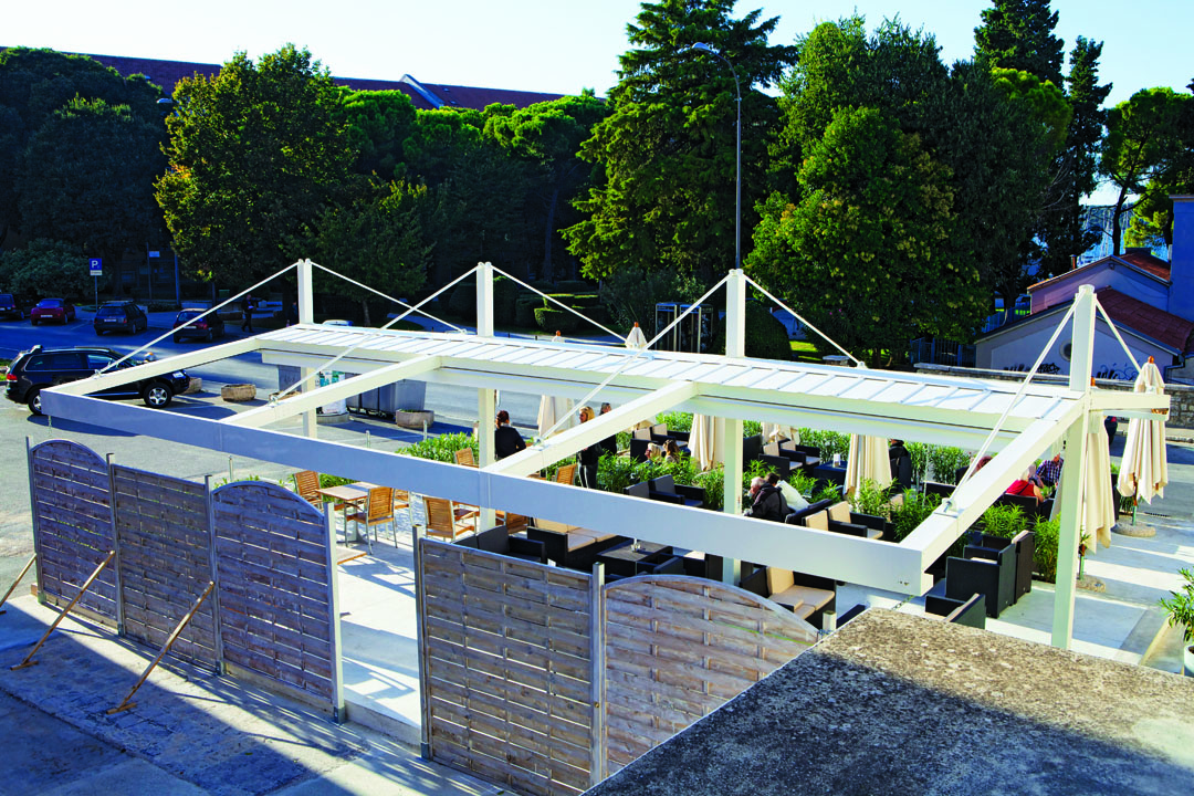 IMG 2101 - Terrassenüberdachung für Biergärten & Freiflächen