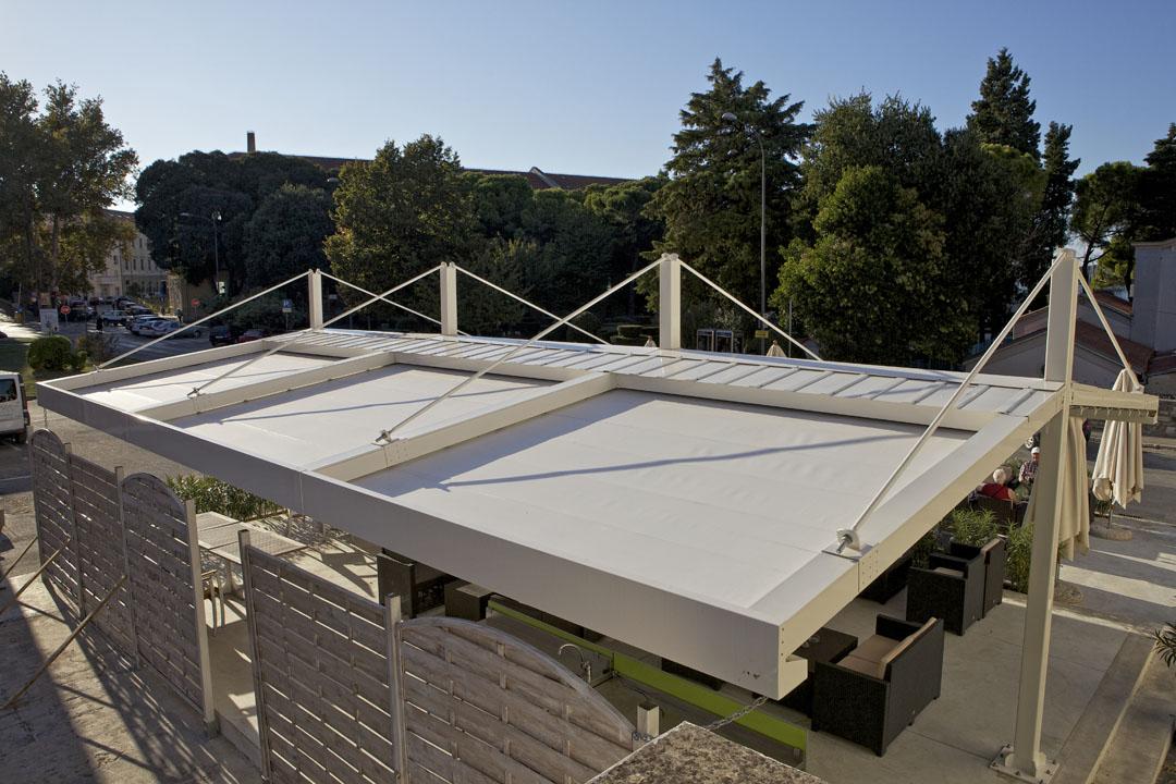 IMG 2109 - Terrassenüberdachung für Biergärten & Freiflächen