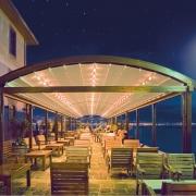 pergola systeme palmiye Terrasse Gastronomie Hotel FB2 180x180 - Palmiye Deutschland - Pergola-Systeme und Terrassenüberdachungen