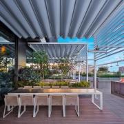 pergola satin palmiye terrassenueberdachung gastronomie 180x180 - Palmiye Deutschland - Pergola-Systeme und Terrassenüberdachungen
