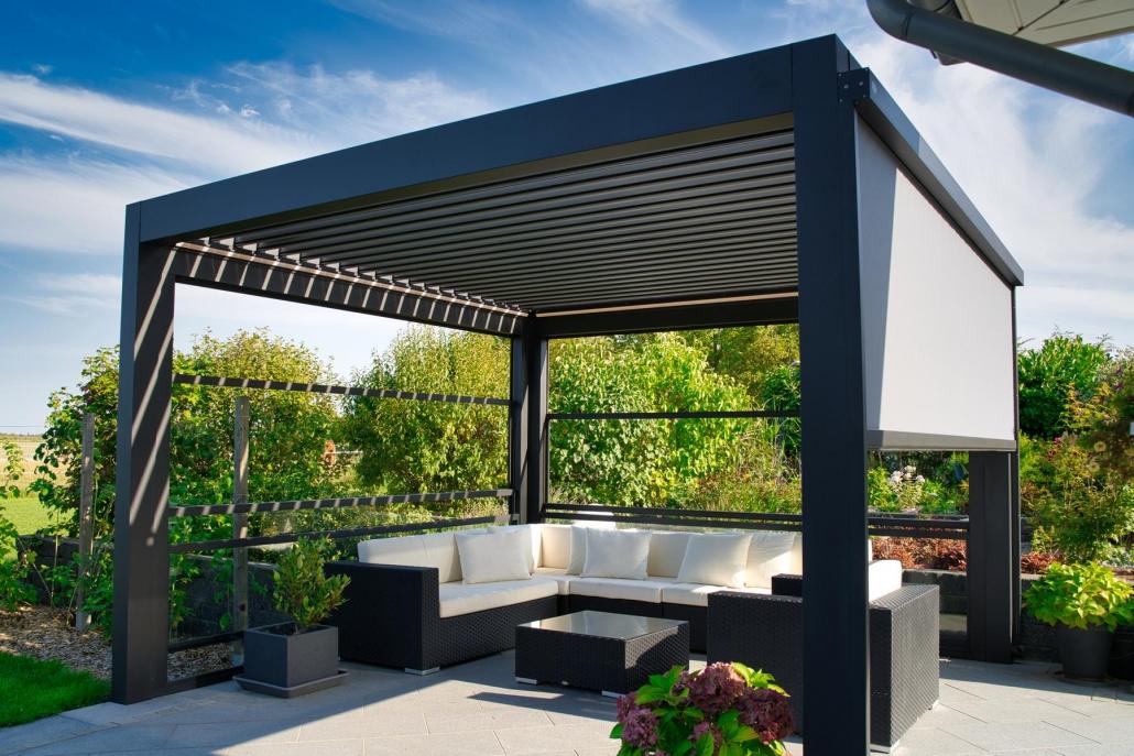 lamellendach skyroof palmiye terrassenueberdachung privat 84springe .JPG 1030x687 - Blog, News und Referenzen