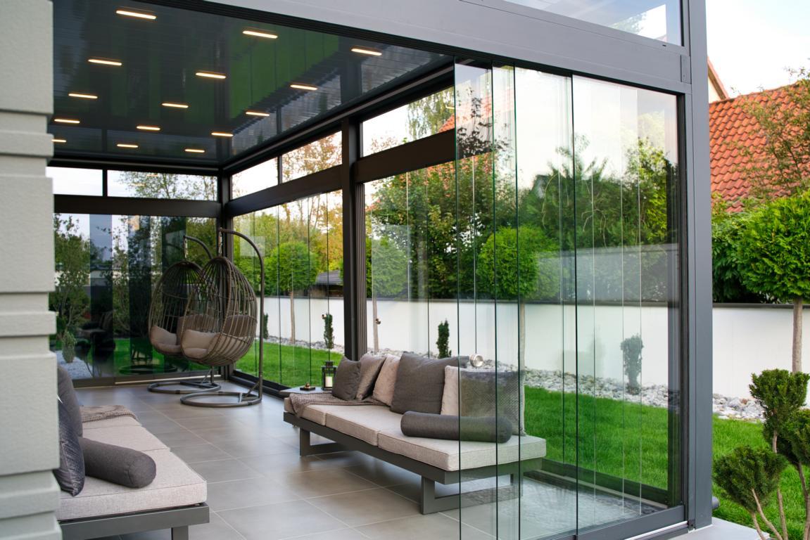 lamellendach skyroof palmiye terrassenueberdachung privat springe 26 - Lamellendach & Wintergarten - Referenz Projekt von PALMIYE