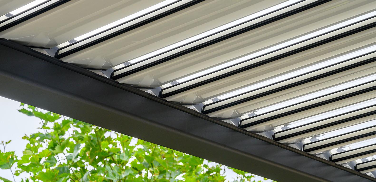 palmiye Skyroof Prestige residental voorhout 3363 - Auffahrbares Lamellendach Skyroof Prestige