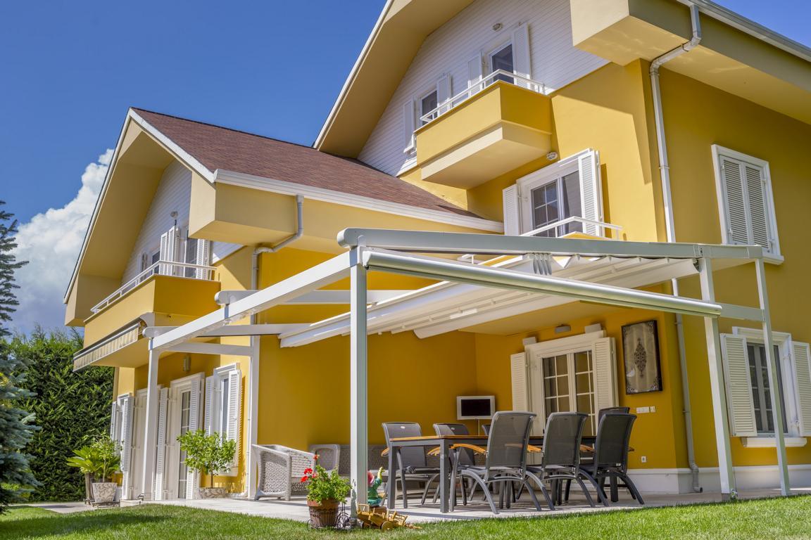 pergola silver palmiye terrassenueberdachung 17 - Terrassendach nach Maß - Referenz-Projekt