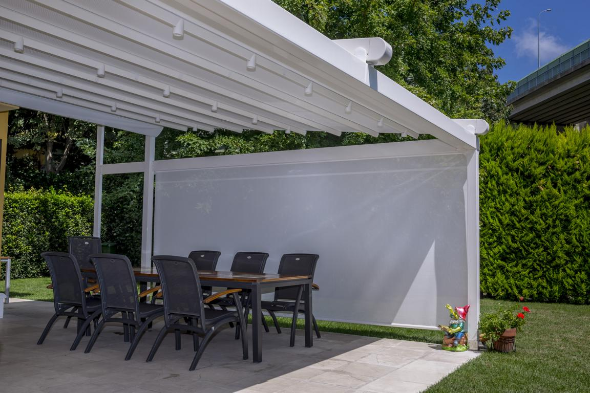 pergola silver palmiye terrassenueberdachung 21 - Terrassendach nach Maß - Referenz-Projekt