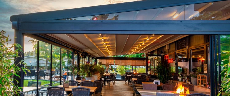 pergola silver palmiye wintergarten gastronomie SL. 1500x630 - Gastronomie Terrassenüberdachung