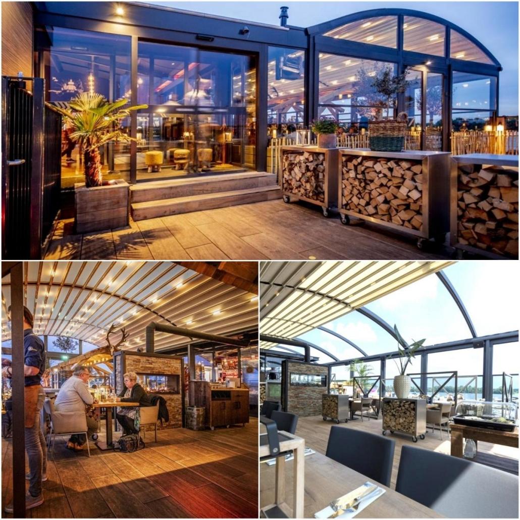 pergola crown palmiye terrassenueberdachung gastronomie dd 13 1030x1030 - Riesige Terrassenüberdachung Restaurant Dukdalf – Referenzprojekt