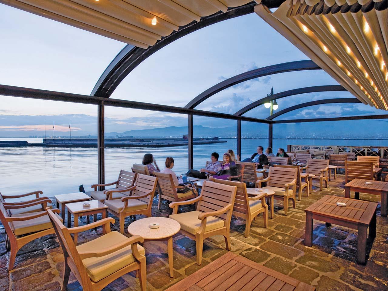 palmiye terrassenueberdachung gastronomie biergaerten freiflaechen 02 - Terrassenüberdachung für Biergärten & Freiflächen