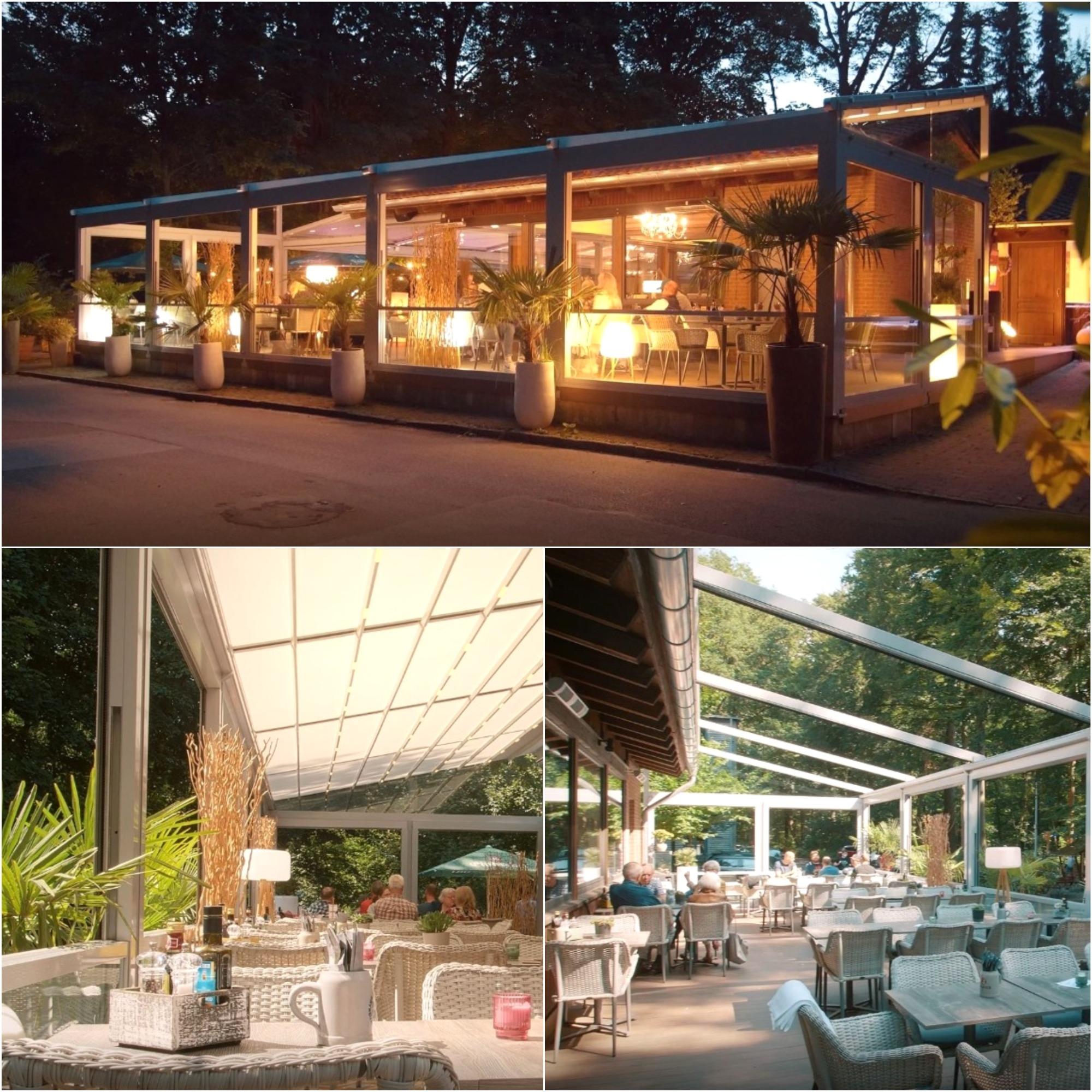 palmiye terrassenueberdachung gastronomie bischofshol 15 - Terrassenüberdachung Restaurant BISCHOFSHOL