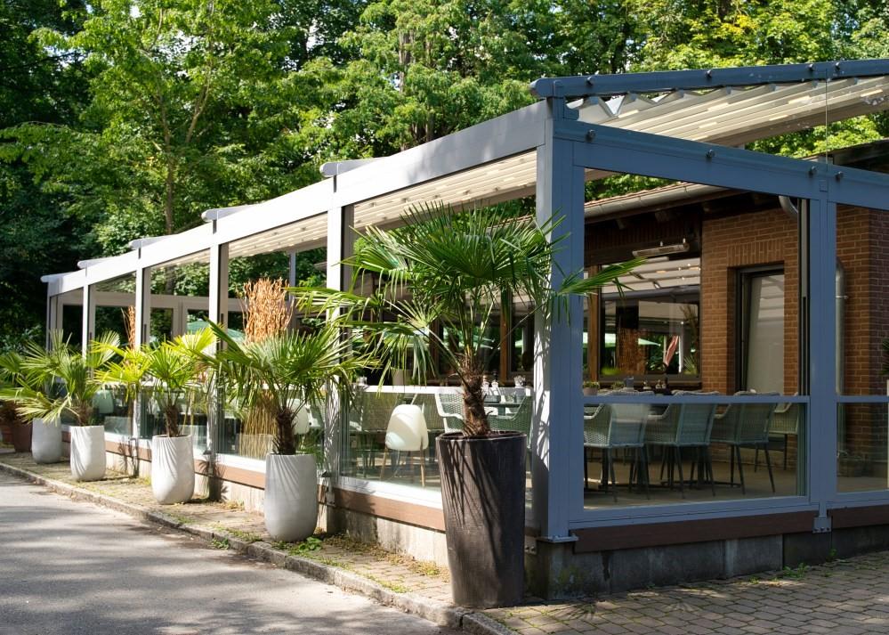 palmiye terrassenueberdachung gastronomie bischofshol 16 - Terrassenüberdachung Restaurant BISCHOFSHOL