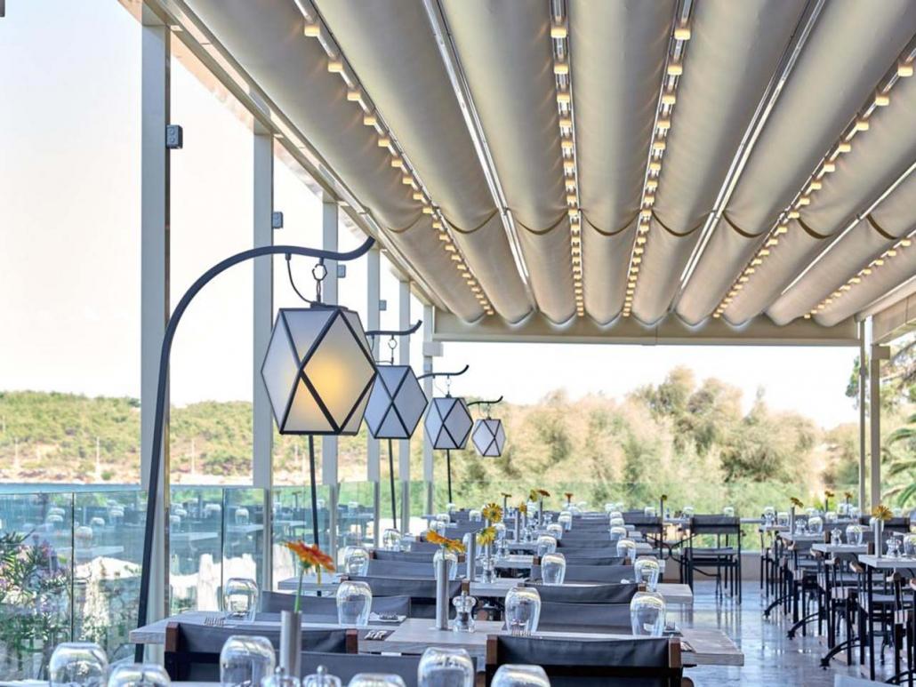 pergola satin palmiye terrassenueberdachung gastro 2 1030x773 - Terrassenüberdachungen Gastronomie   Pavillons