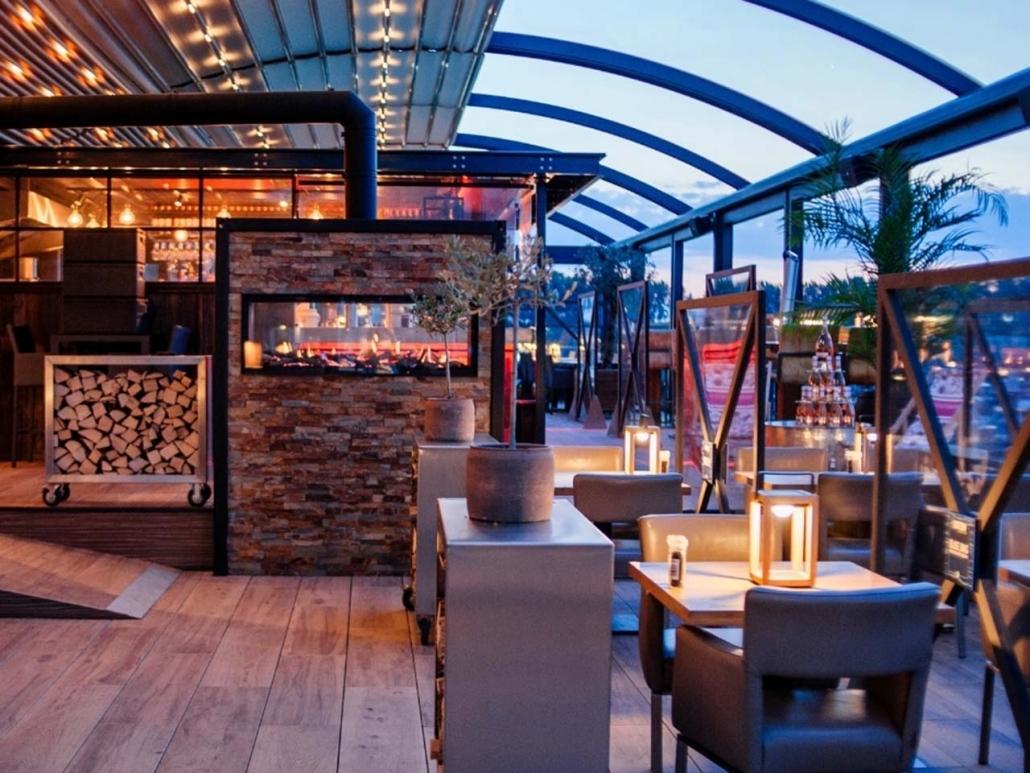 pergoladach crown palmiye gastro offenes dach 1030x773 - Terrassenüberdachungen Gastronomie   Pavillons